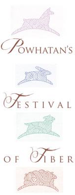 Powhatan Festival of Fiber Logo