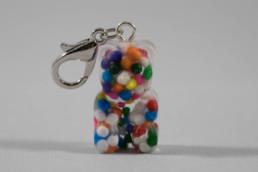 Rainbow Sprinkle Yummy Bear Marker (front)