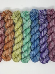 Cardinal Skeins Twist Sock Minis
