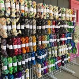 Local Yarn Store Day Display